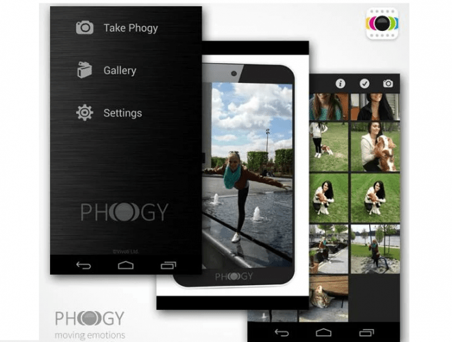 Mit Pogy erzeugst du eine Art 3D-Panorama, der 3D-Effekt tritt zutage, wenn du das Smartphone beim Betrachten kippst.