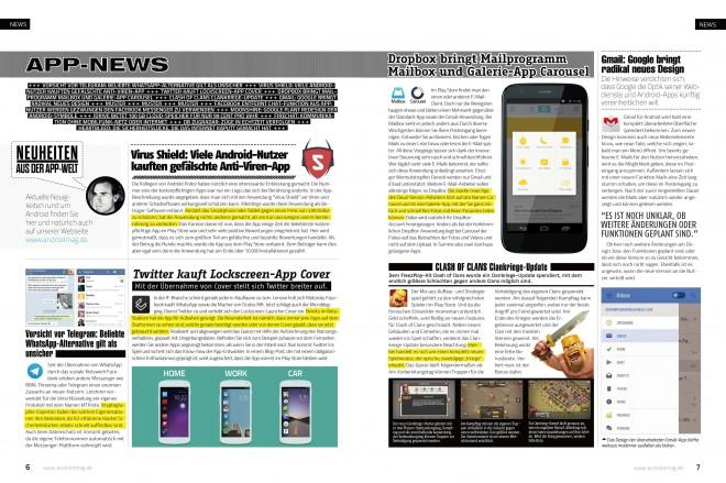 App-News (2 von 4 Seiten)