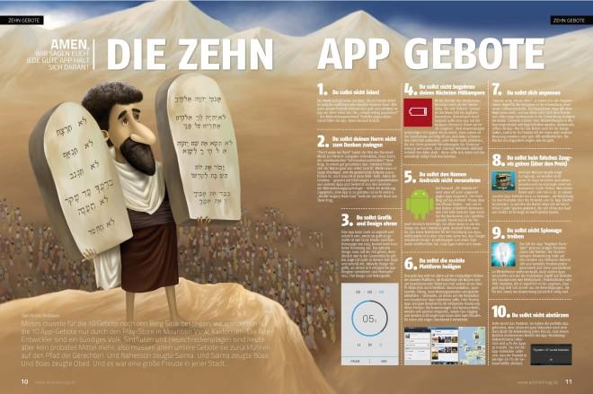 Die Zehn App-Gebote (2 von 2 Seiten)