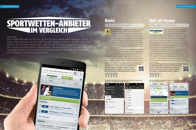 Sportwetter-Anbieter im Vergleich (2 von 5 Seiten)