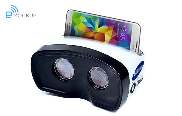 So könnte das VR-Headset von Samsung aussehen.