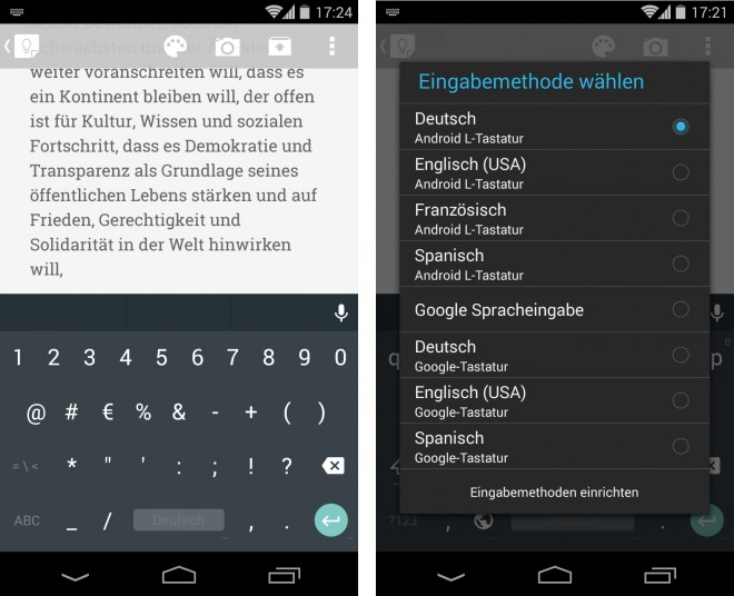 Android L Keyboard - 02