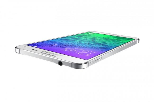Das Galaxy Alpha ist das erste Gerät mit Metall-Gehäuse aus dem Hause Samsung.