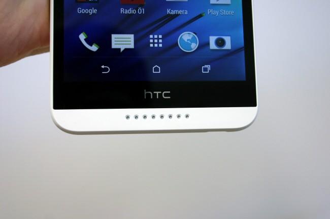 HTC folgt wie bei den anderen Geräten dem allgemeinen Trend zu Software-Buttons. Das beschneidet zwar die Bildschirmfläche, erleichtert aber oft die Bedienung.