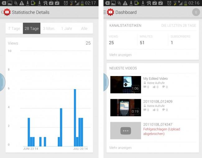 Diese App hilft bei der Analyse deines Youtube-Channels.