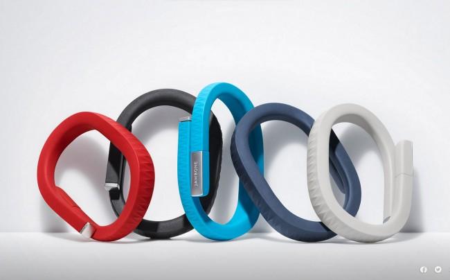 """Jawbone UP Nutzer des Fitness-Trackers """"Jawbone UP"""" verwenden das Gadget, um die eigene Fitness und die zugehörigen Ess-Gewohnheiten in einer zentralen App zu speichern und auszuwerten. """"Quantified Self"""" lautet hier das Credo."""