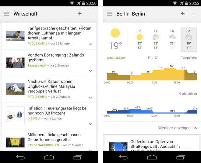 Google News Wetter - 01