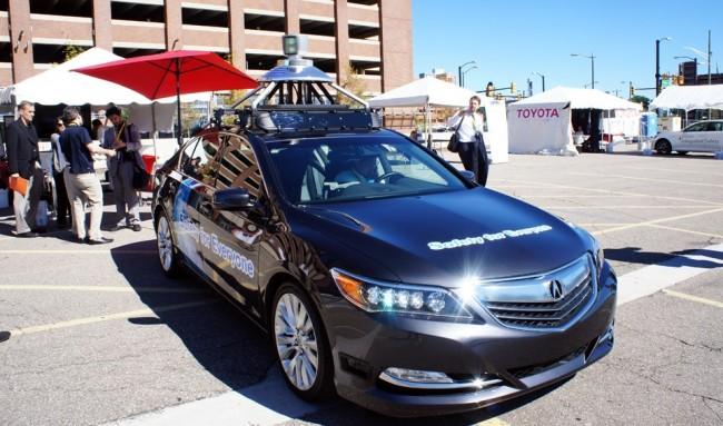Nicht nur Google, sondern auch Honda hat bereits ein Auto, das von selbst fährt. (Foto: Engadget)