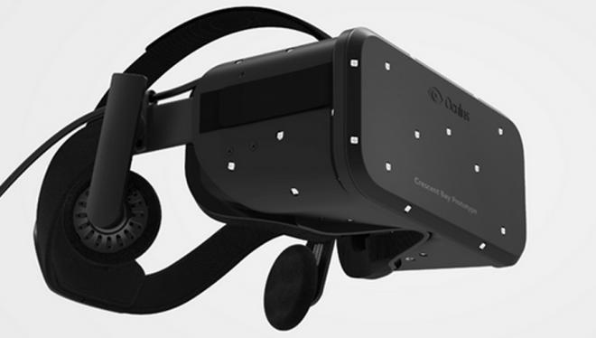 """Das neue Modell der Oculus Rift, mit dem Namen """"Crescent Bay"""", bringt viele Verbesserungen mit. (Bild: Oculus VR)"""