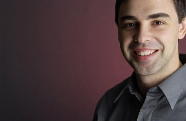 """Google-Mitgründer Larry Page: """"Wir versuchen herauszufinden, wie wir all diese Ressourcen verwenden können ... und dabei einen positiven Einfluss auf die Welt haben können."""" (Foto: Google)"""