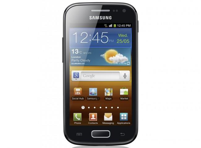 """Ein """"Samsung Ace II X""""-Smartphone hat das Bett einer kanadischen Studentin in Brand gesetzt. Laut Hersteller ist ein """"nicht autorisierter"""" Akku schuld daran. (Foto: Samsung)"""