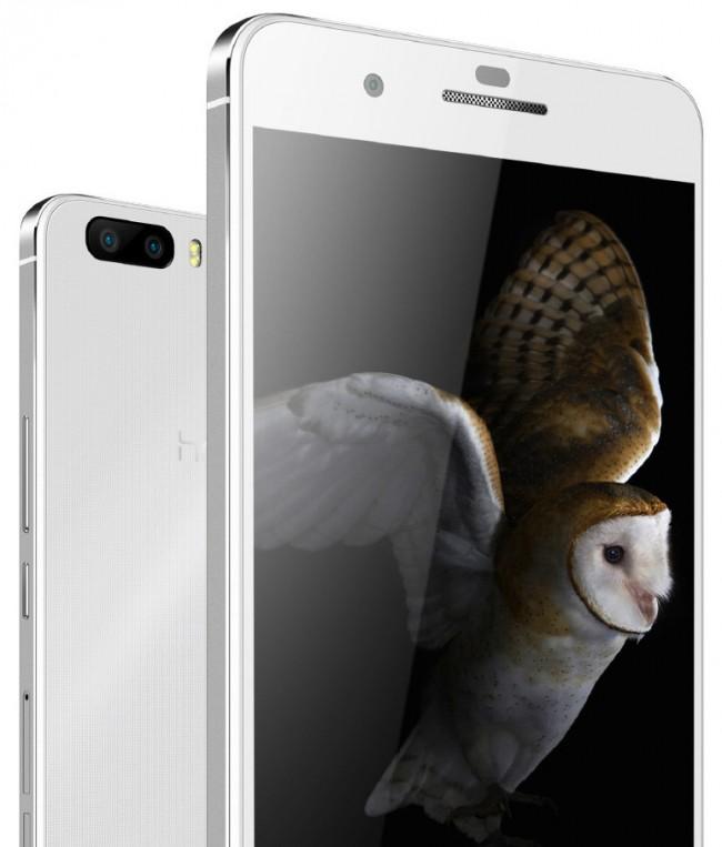 Das Honor 6 Plus verfügt über eine Kamera auf der Vorderseite und zwei Kameras auf der Rückseite. Die beiden Rückseitenkameras kann das Smartphone miteinander kombinieren, um eine Fotoauflösung von 13 Megapixeln und eine hohe Lichtempfindlichkeit zu erreichen. (Foto: Huawei)