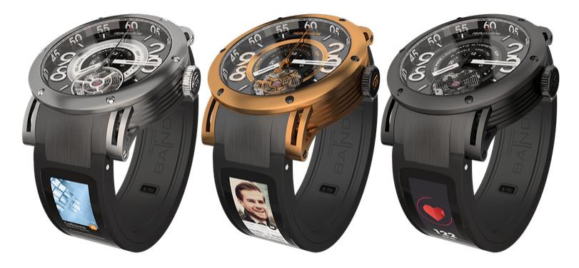 Das T-band verwandelt deine Lieblingsarmbanduhr in eine Smartwatch