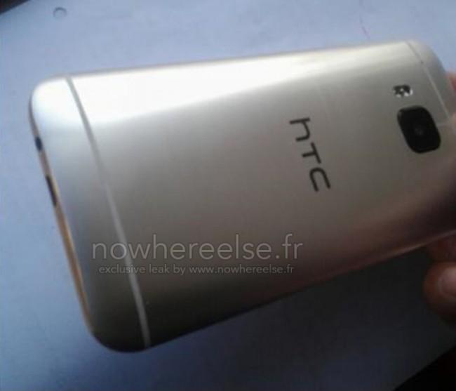 Sehen wir hier die Rückseite des neuen HTC One (M9)? (Foto: Nowhereelse.fr)
