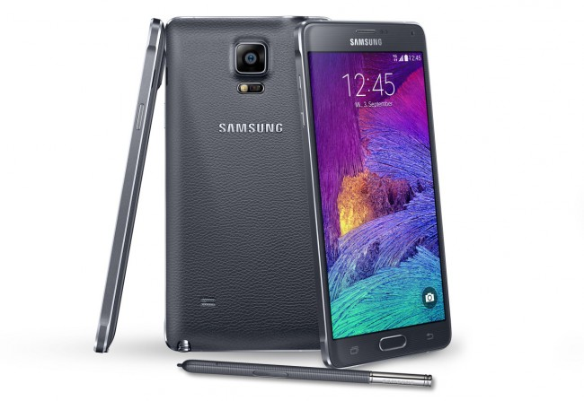 Die Verkaufszahlen des Galaxy Note 4 haben unter der Markteinführung des ebenfalls großformatigen Konkurrenten iPhone 6 Plus gelitten. (Foto: Samsung)