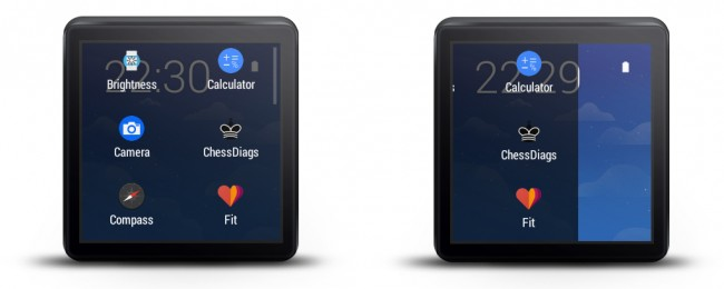 Mit Wear Mini Launcher starten Sie Apps auf der Smartwatch bequemer.