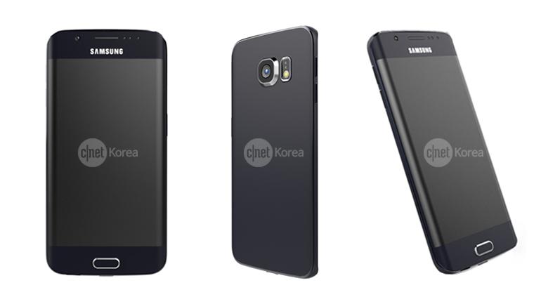 Samsung Galaxy S6 Edge: Renderbilder erlauben detaillierten Blick auf das Topmodell