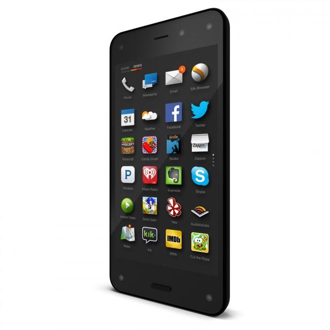 """Das Smartphone """"Fire Phone"""" hat sich als Misserfolg erwiesen. Nun entlässt sein Hersteller Amazon viele Mitarbeiter und reduziert die Ausgaben für die Entwicklung anderer Hardware-Projekte. (Foto: Amazon)"""