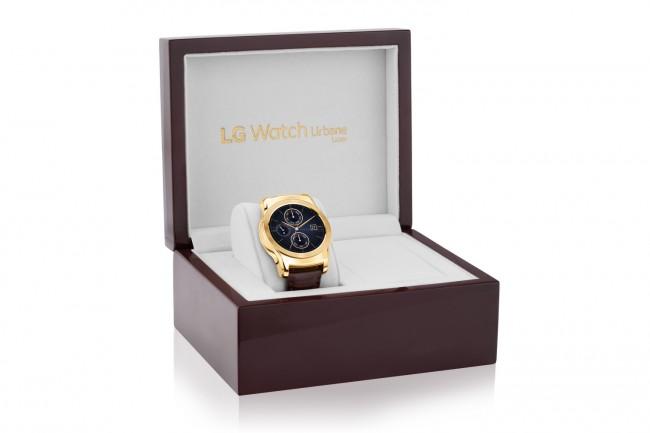 """Ab Ende Oktober ist die """"LG Watch Urbane Luxe"""" erhältlich – für 1.200 US-Dollar (etwa 1.071 Euro). (Foto: LG Electronics)"""