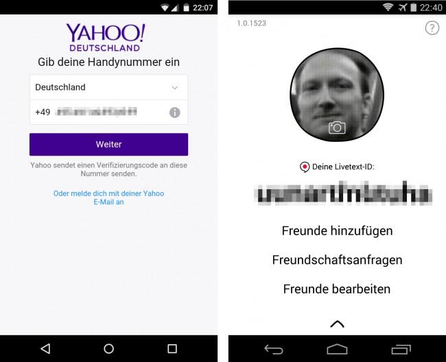 Yahoo Livetext - 02