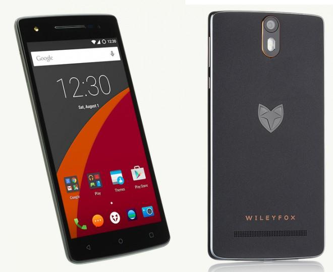 Das Wileyfox Storm besitzt unter anderem ein Full HD-Display, einen Snapdragon 615-Prozessor und eine 20 MP-Kamera.