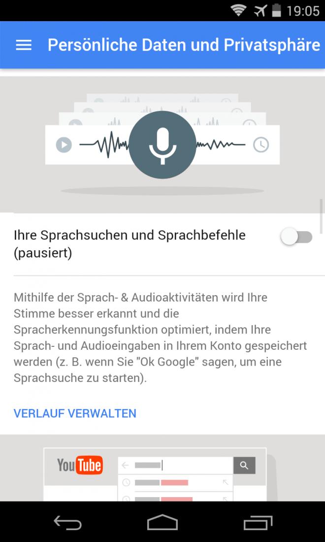 Google Account Datenschutz 03