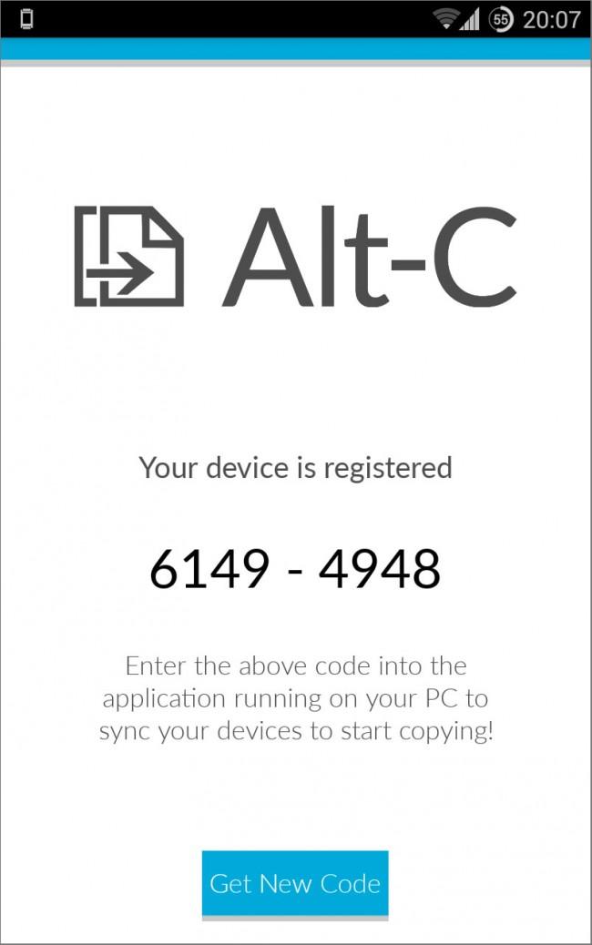 ALT-C