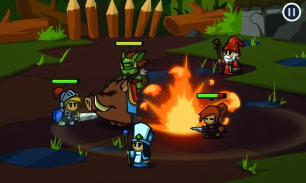 Grafisch weiß Battleheart mit gestochen scharfer Comic-Optik und entzückenden Animationen zu gefallen.