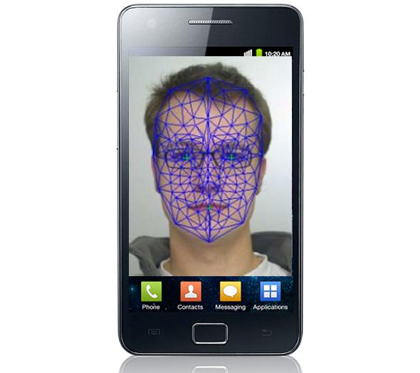 Samsung Galaxy S2: Gesichtserkennung.