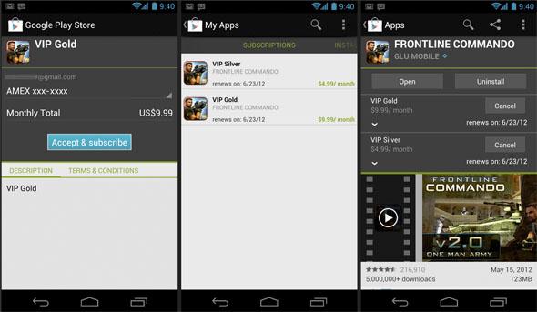 Google bringt In-App-Abos für Google Play. Foto: Android-developers.
