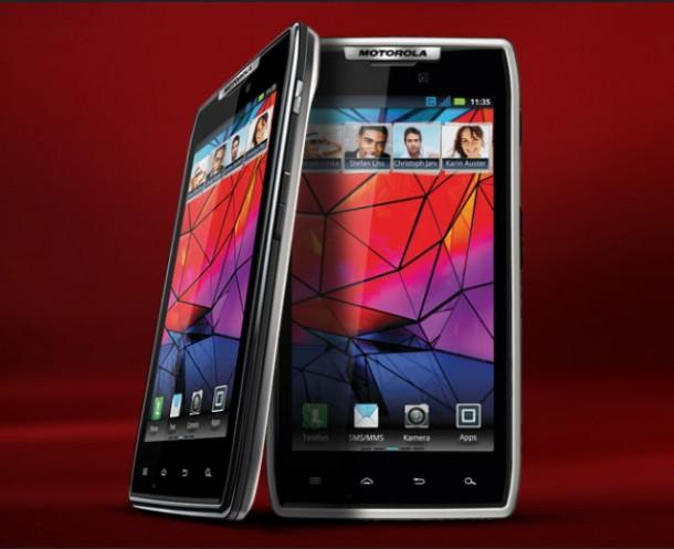 Das Motorola Razr ist Motorolas aktuelles Flaggschiff auf dem Smartphonemarkt. Foto: Motorola.
