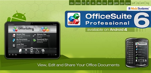 Office Suite Pro - Mobile Systems