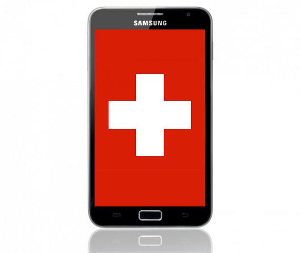 Android gewinnt in der iPhone Hochburg Schweiz.