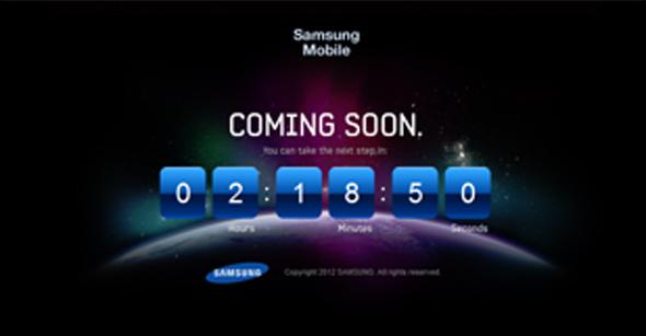 Samsung startet countdown Quelle: www.tgeltaaxehxnx.com