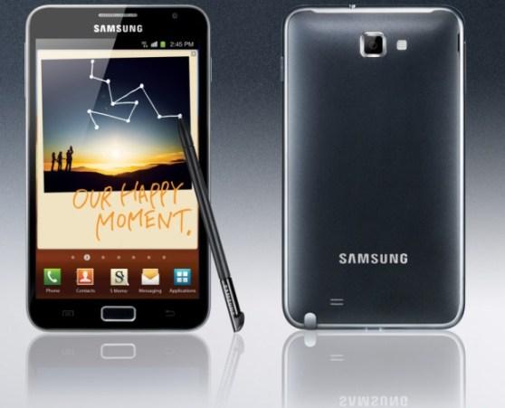 Das Samsung Galaxy Note hat den Trend zu großen Displays angestoßen und den Stylus wieder populär gemacht. (Bild: Samsung)
