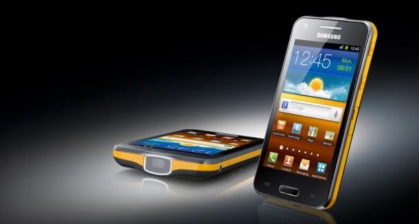Das Samsung Galaxy Beam soll ab 5. Juli in Deutschland erhältlich sein. Foto: Samsung.