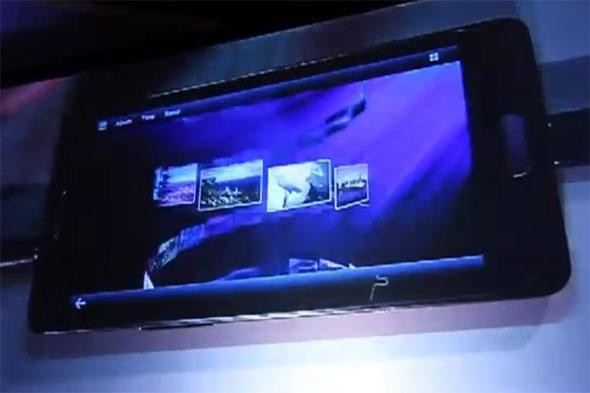 Samsung Galaxy S2 HD mit dem Tizen Betriebssystem. Foto: tizenexperts.com