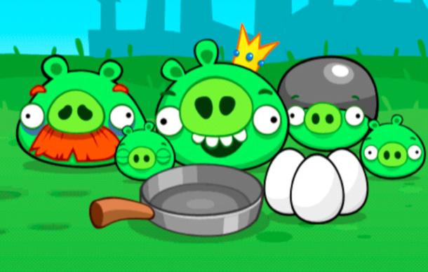 Plant Rovio ein neues Spiel mit den Schweinen als Hauptdarstellern? Foto: pocket-lint.com