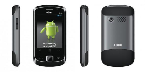 Bee 7100: das derzeit günstigste Smartphone der Welt (Foto: axiomtelecom.com)