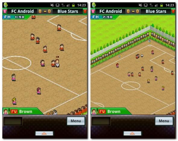 Das Spiel präsentiert sich in altbekannter Pixel-Grafik mit doch sehr gut gelungenen Animationen.