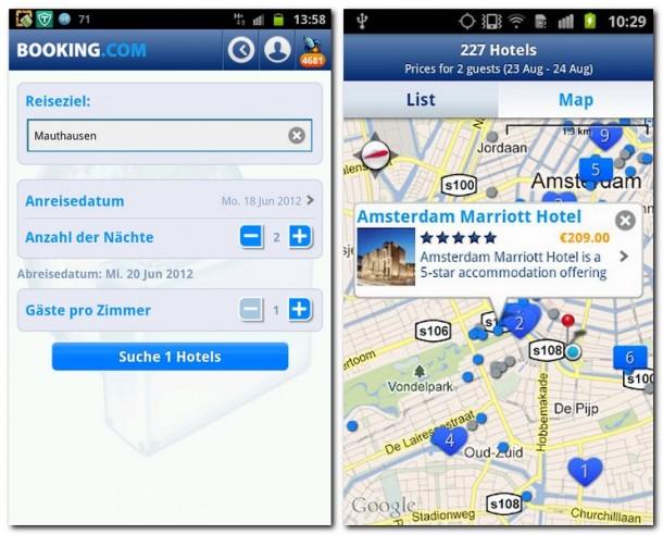 Die Bedienung der App ist äußerst intuitiv - es war noch nie einfacher passende Hotels zu fi nden und zu buchen.