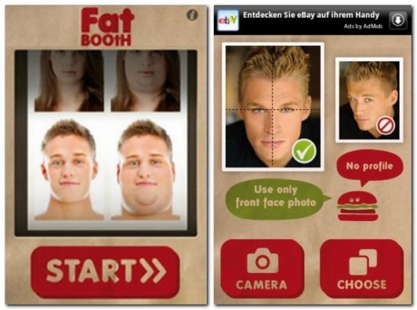 Mit Fatbooth erstellst du aus jedem Gesicht das dicke Gegenstück.