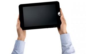 Das neue Toshiba AT100 Tablet; Quelle: Toshiba
