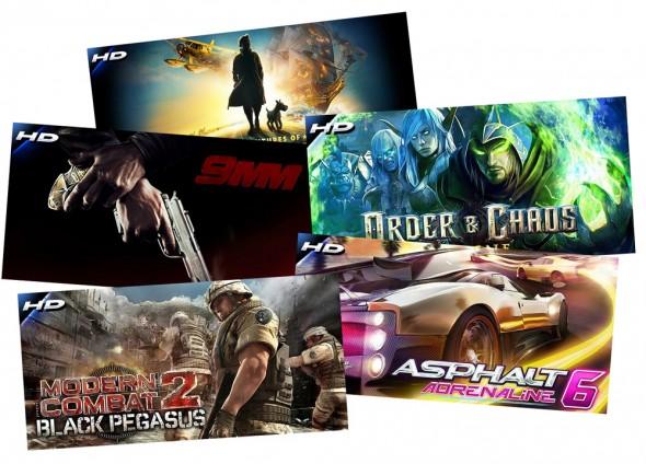 Alle Gameloft Spiele gibt es vom 29.12. bis 5.1. für nur 0,79 Euro