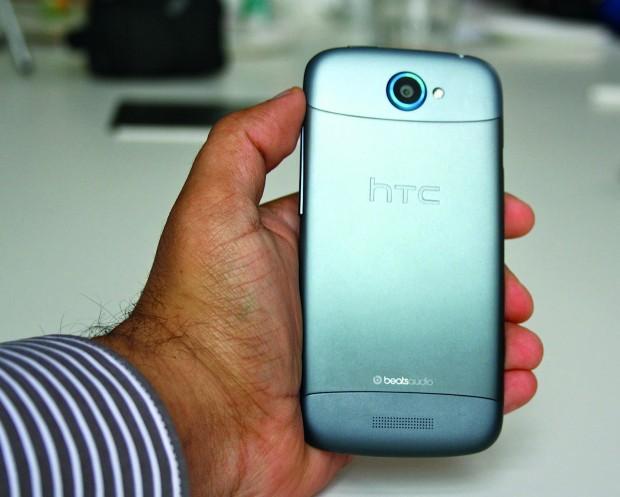 Anodisierte Rückseite des HTC One S