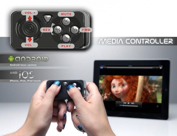 Der iMpulse Controller ist der kleinste Controller weltweit.
