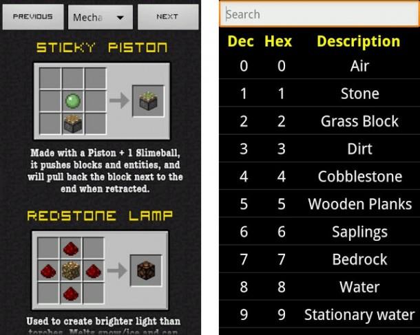 MineCanary Minecraft Guide ist DAS Nachschlagewerk für die PC-Version von Minecraft. Neben Rezepten, Links und Tipps enthält es auch eine Uhr, mit der der virtuelle Tages- und Nachtzyklus gemessen werden kann.