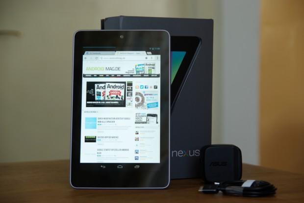 Mit dem Nexus 7 hat Google erstmals ein Tablet in die Nexus-Reihe integriert.
