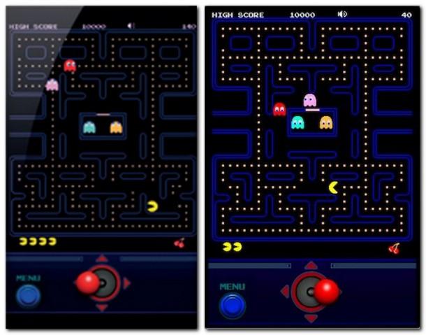 Die kleinen gelben Punkte sehen nicht besonders schmackhaft aus - für Pac- Man sind sie es trotzdem!