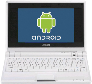 Entwickelt wurde Android für PC zur Anwendung am Netbook.